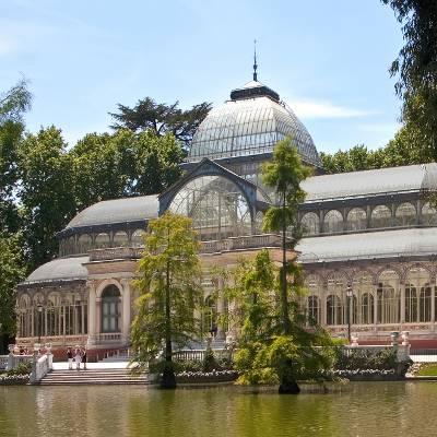 Free Tour Madrid de los Borbones - visita guiada gratis madrid de los borbones Palacio de Cristal