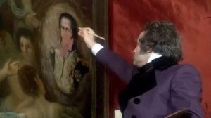 Alegoria de la Villa de Madrid Goya