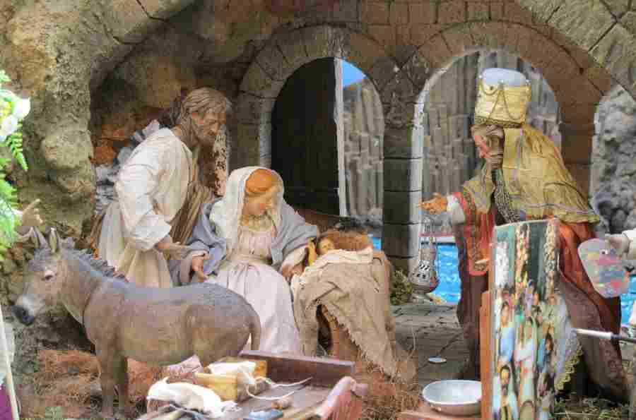 Nativity scenes in Madrid