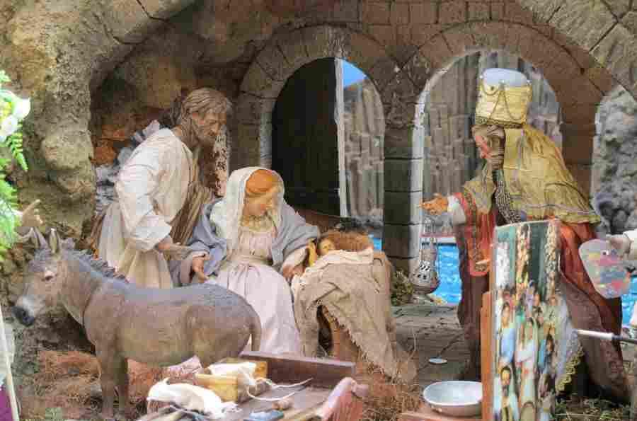 Belenes de Navidad en Madrid Centro