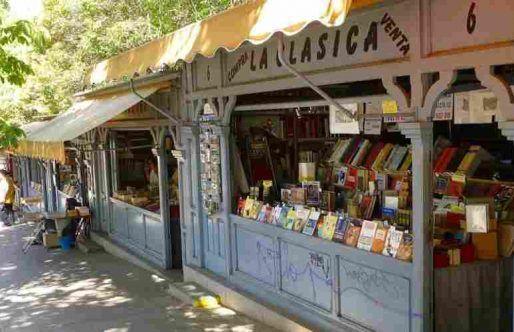 Cuesta de Moyano la Gran Librería de Madrid