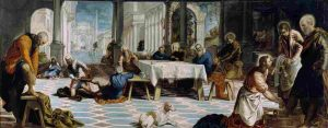 El_Lavatorio_(Tintoretto) Semana Santa en Madrid
