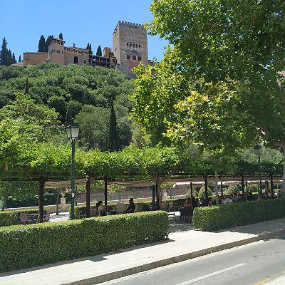 Free Tour Granada - Paseo de los tristes