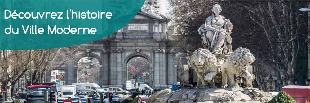 Free Tour Madrid en francais Ville Moderne