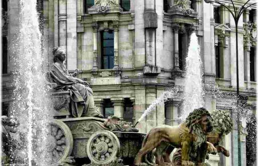 Cibeles Fountain – The Goddess of Madrid