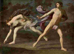 Hipomenes y Atalanta Museo del Prado