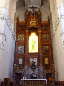 Iglesia de Santa Teresa y San José Retablo