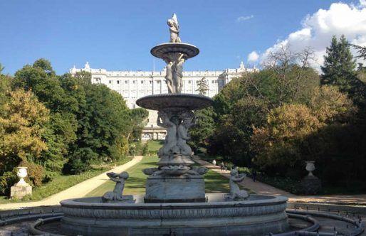 Jardines del Campo del Moro. Planes en Madrid