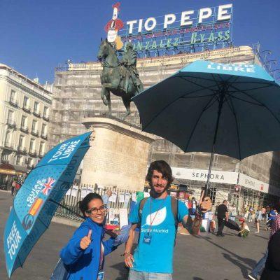 Free tour madrid - free walking tour madrid Punto de encuentro