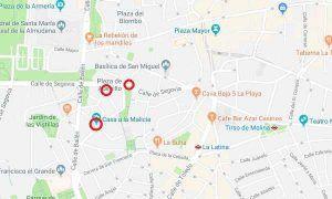 Mapa Casas a la malicia - Malice houses map