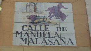 Placa Conmemorativa de Manuela Malasaña