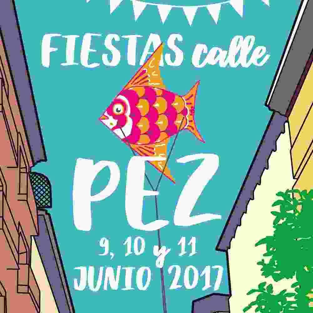 La calle del Pez y sus Fiestas- Malasaña Madrid