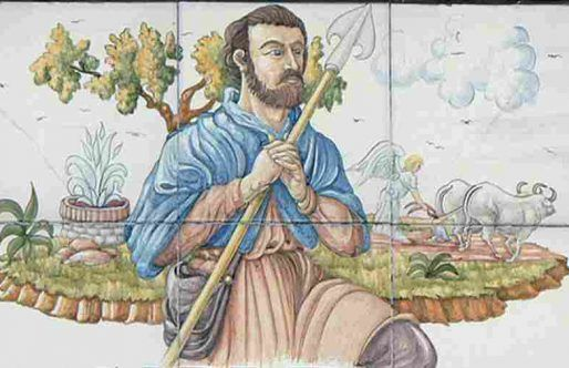 Saint Isidro Farmer- Patron Saint of Madrid