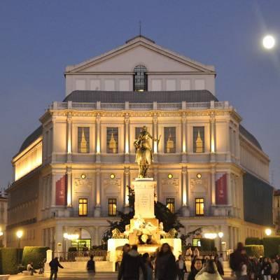Free tour madrid de los austrias - visita guiada madrid de los austrias Teatro Real