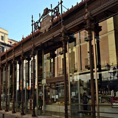 Free tour madrid de los austrias - visita guiada madrid de los austrias Mercado de San Miguel