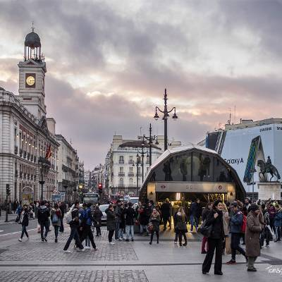 Free tour madrid de los austrias - visita guiada madrid de los austrias Puerta del Sol -Tomas G Santis